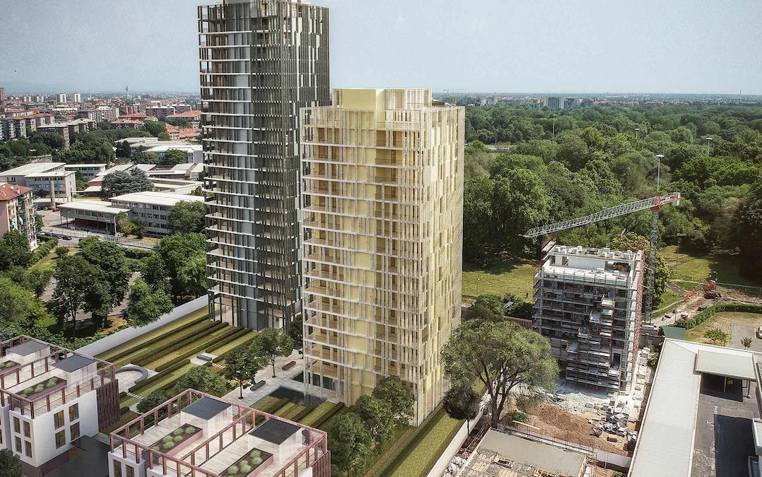 Concrete raccoglie 2,5 mln in 24 ore per Park Towers Milano