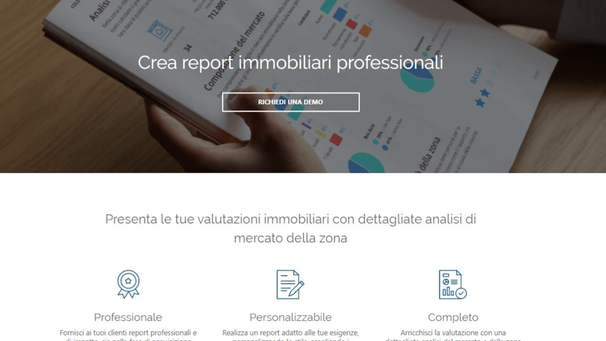 Big data: Immobiliare.it lancia Report Immobiliare Pro