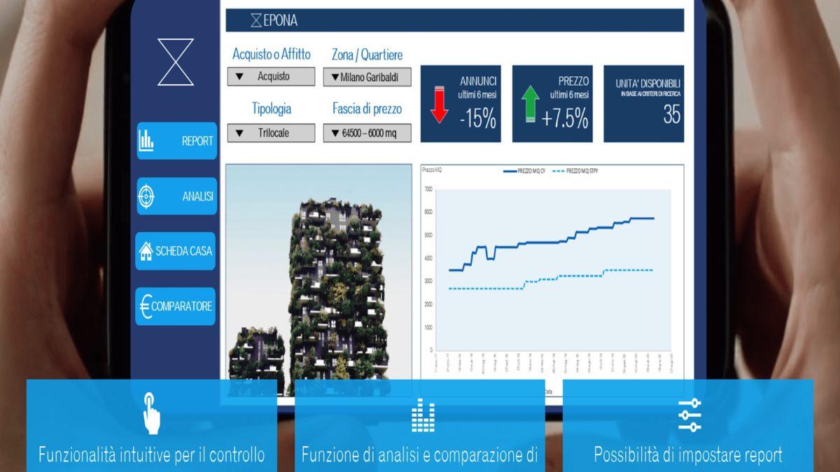 Epona: nasce la piattaforma che monitora l'immobiliare in real time