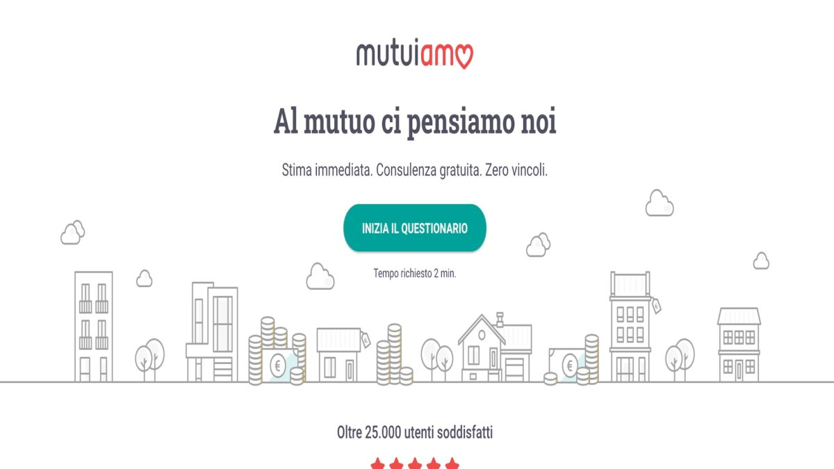 Nasce Mutuiamo la start up di Immobiliare.it dedicata ai mutui