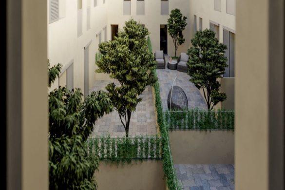 Firenze_Nuovo Conventino_cortile interno