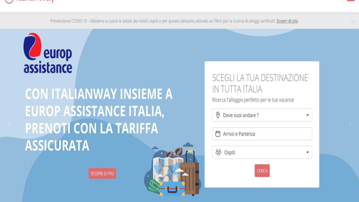 Partnership Italianway e Europ Assistance Italia per proteggere le vacanze in era Covid