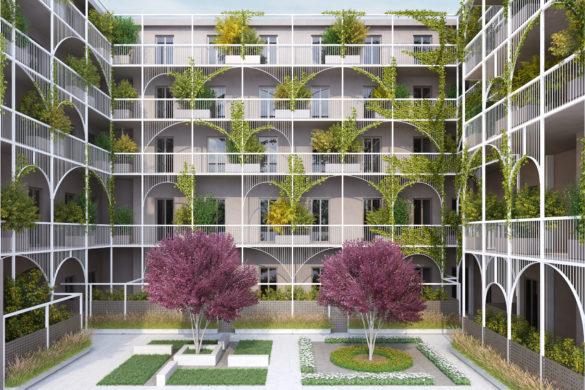 Smart House Saluzzo43 INTERNO CORTILE